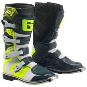 Stivali Gaerne Boots SG-J White Yellow Grey
