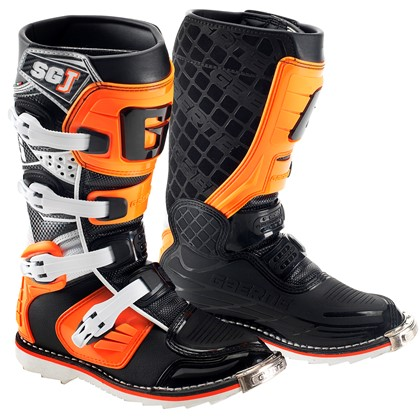Stivali Motocross Bambino Gaerne SG J Junior Youth Orange 33