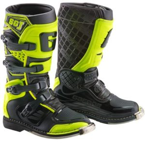 Stivali Motocross Bambino Gaerne SG-J Junior Youth Yellow Fluo Black 38