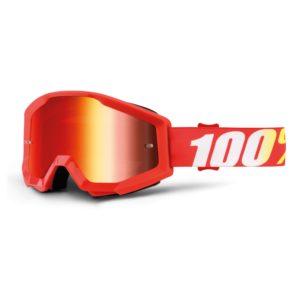 Mascherina Strata Furnace Mirror Red 100%