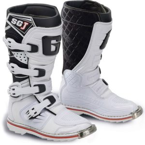 Stivali Motocross Bambino Gaerne SG-J Junior Youth White