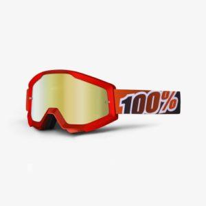 Mascherina Strata Fire Red 100% Mirror Red