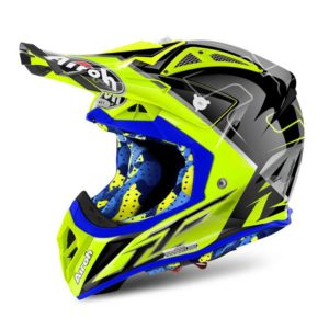 CASCO MX AIROH AVIATOR 2.2 Six Days Red Limited Edition TG.M