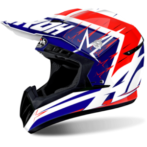 Casco Airoh Switch Startrucher red Gloss