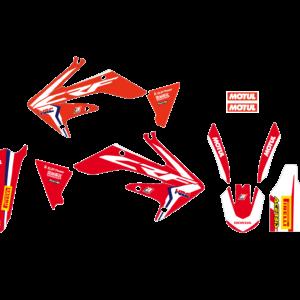 Kit Adesivi Replica Team HRC 2017 HONDA CRF 250 04-09 2135R17