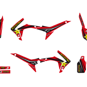 Kit Adesivi Rockstar Energy HONDA CRF 250 14-17 e 450 13-162145L