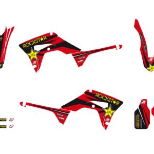 Kit Adesivi Rockstar Energy HONDA CRF 250 18-19 e 450 17-19 e 450 X 17-19 2146L