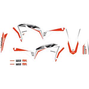 Kit Adesivi Super White HONDA CRF 250 18-19 e 450 17-19 e 450 X 17-19 2146