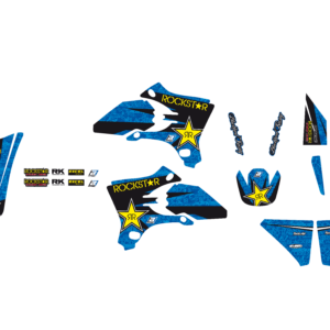Kit Adesivi Rockstar Energy YAMAHA YZF 250-450 03-05