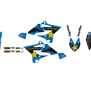 Kit Adesivi Rockstar Energy YAMAHA YZ 125-250 15-19 e WR 125-250 16-19