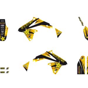 Kit Adesivi Rockstar Energy SUZUKI RMZ 450 08-17