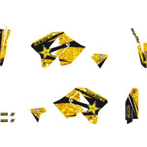 Kit Adesivi Rockstar Energy SUZUKI RM 125-250 01-19