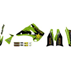 Kit Adesivi Rockstar Energy KAWASAKI KX 125-250 03-08 2408L