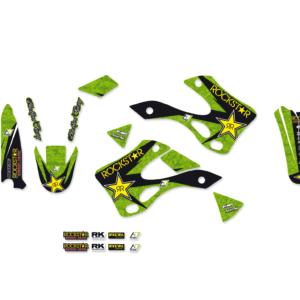 Kit Adesivi Rockstar Energy KAWASAKI KX 125-250 99-02 2409L