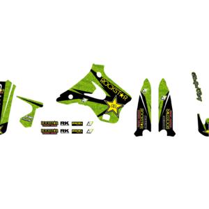 Kit Adesivi Rockstar Energy KAWASAKI KX 125-250 94-98 2410L