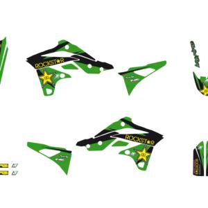 Kit Adesivi Rockstar Energy KAWASAKI KXF 250 13-16 2421L