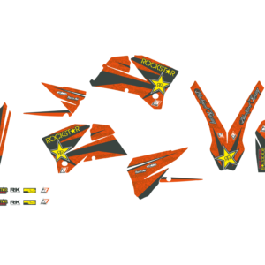 Kit Adesivi Rockstar Energy KTM SX-SXF 05-06 2526L