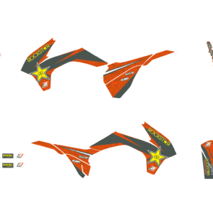 Kit Adesivi Rockstar Energy KTM SX-SXF 13-15 e EXC 14-162538L