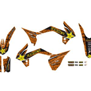 Kit Adesivi Rockstar Energy KTM SX 85 13-17 2539L