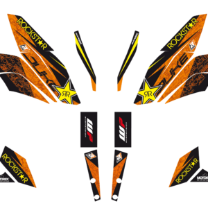 Kit Adesivi Rockstar Energy KTM DUKE 125-200-390 11-16	2544L