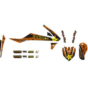 Kit Adesivi Rockstar Energy KTM SX 85 18-19 2545L