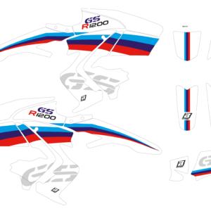 Kit Adesivi Classic Line BMW R1200 GS 08-12 2D03 00