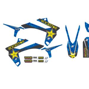 Kit Adesivi Rockstar Energy SHERCO SE-SEF 13-16