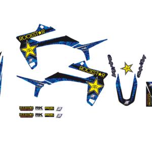 Kit Adesivi Rockstar Energy SHERCO SE 50 15-19