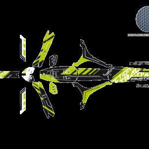 Kit Adesivi Traction OSSA TR 12-19 2T11E