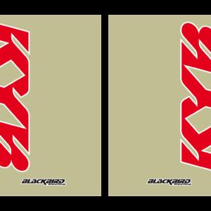adesivi fodero forcella trasparente Blackbird Kayaba colore trasparente 5045K