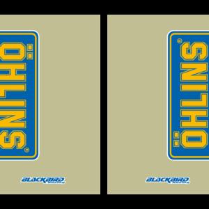 adesivi fodero forcella trasparente Blackbird Ohlins colore trasparente 5045O