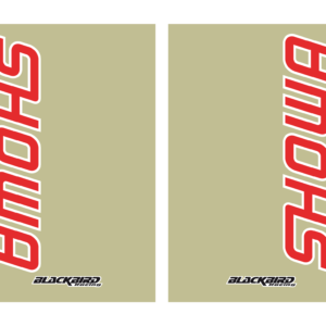 Adesivo fodero forcella trasparente Blackbird Showa colore trasparente 5045S