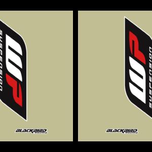 adesivi fodero forcella trasparente Blackbird Wp colore trasparente 5045W