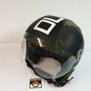 CASCO DURALEU PLUS MIMETIC NERO LINEA POOL RAMBO TAGLIA :M