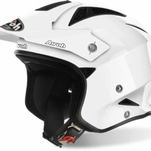 CASCO AIROH TRR S COLOR WHITE GLOSS TRRS14