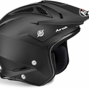 CASCO AIROH TRR S COLOR BLACK GLOSS TRRS14