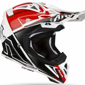 CASCO AIROH MOTO CROSS AIROH AVIATOR 2.2 2019 CHECK RED GLOSS AV22C55