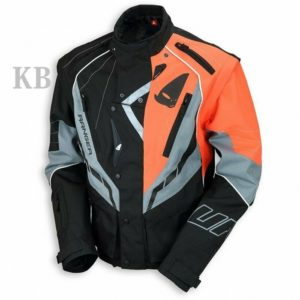 Giacca Cross Enduro Off Road Ranger Jacket Ufo Plast Arancione Grigio GC04417