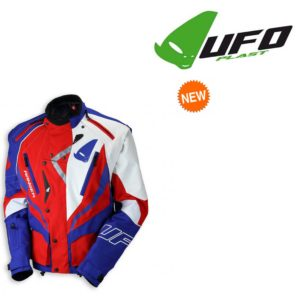 Giacca Cross Enduro Off Road Ranger Jacket Ufo Plast Rossa Blu bianca